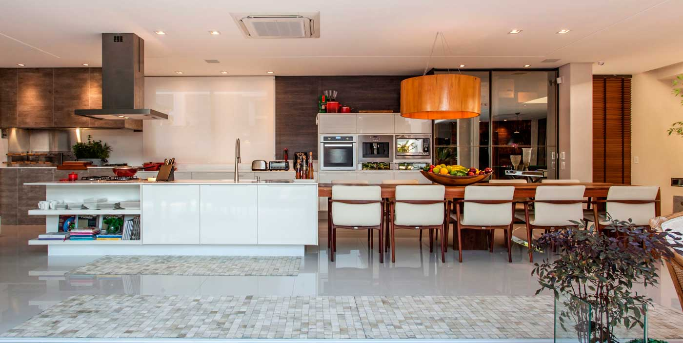 Um espaço gourmet externo incrível, completo e bem amplo