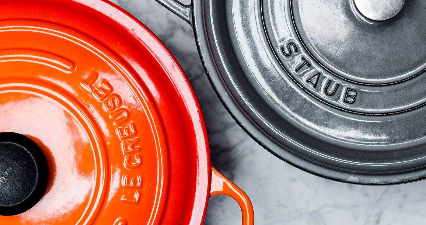 Le Creuset ou Staub - Qual a melhor panela de ferro para comprar hoje?