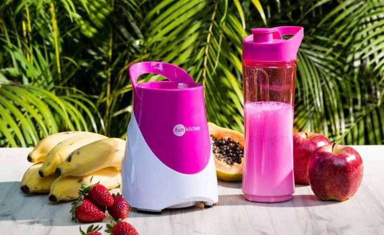 Blender Fun Kitchen My Shaker Cor Rosa - Sucesso entre as mulheres