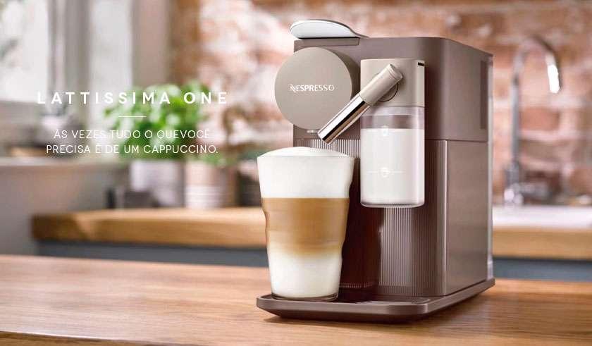Cafeteira de cápsula Nespresso Latissima One