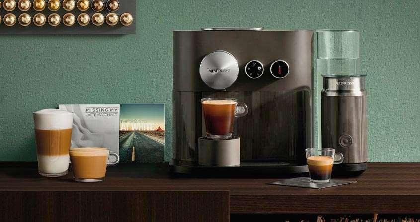 A melhor cafeteira de cápsula Nespresso Expert