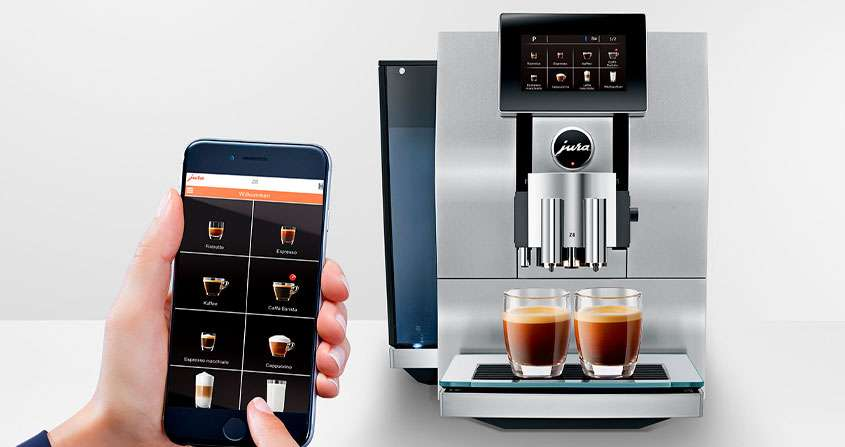 Melhor Cafeteira Expresso do Mundo Jura Z8 Automática
