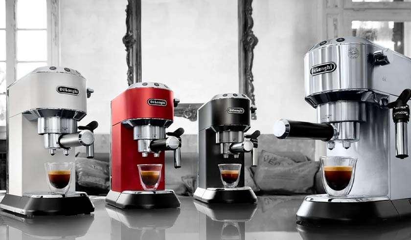 A melhor cafeteira expresso italiana De'Longhi