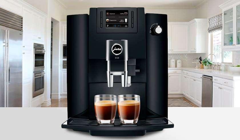 Melhor máquina de café expresso automática Jura E60