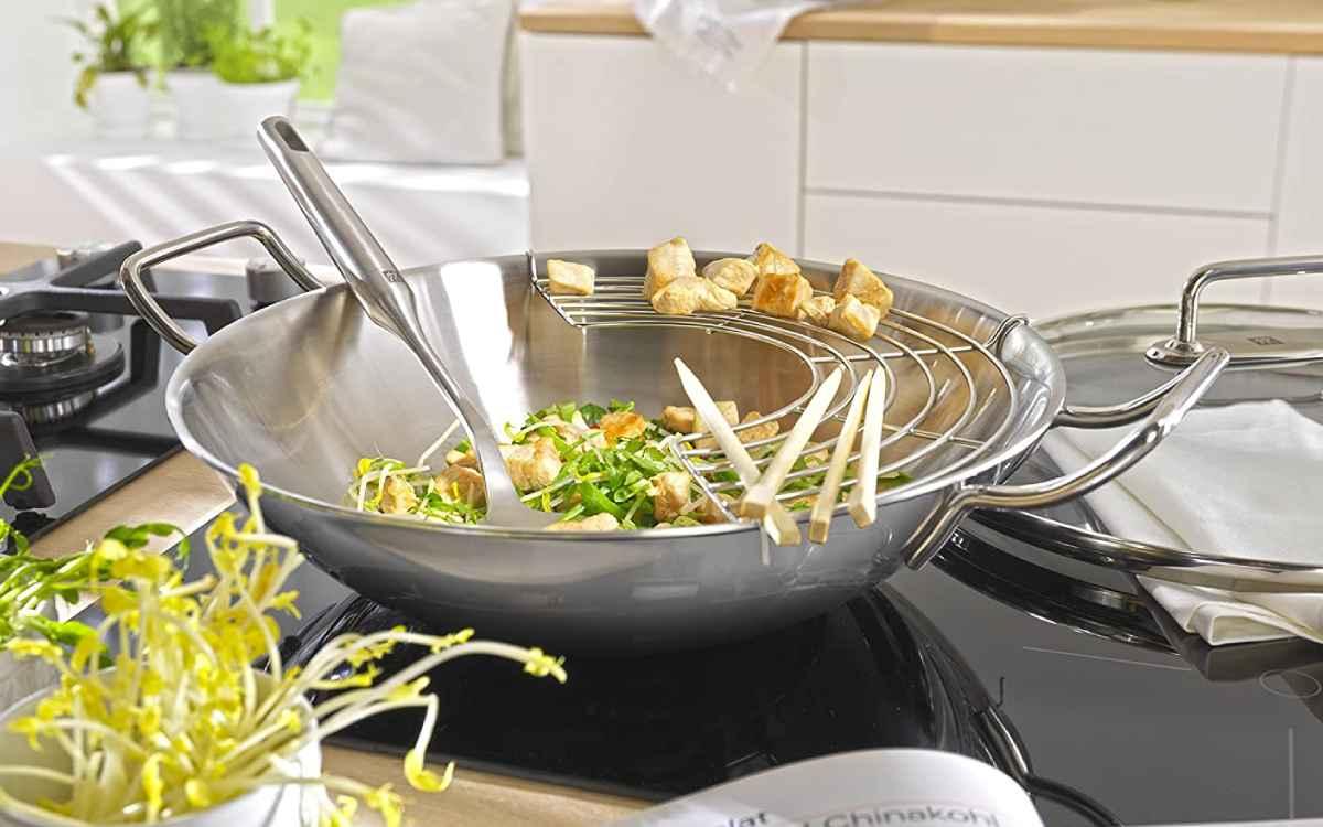 Panela wok inox Zwilling