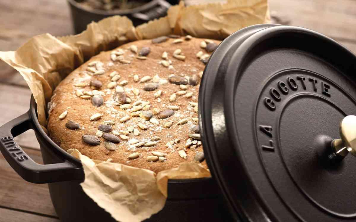 Panela de ferro para pão Staub