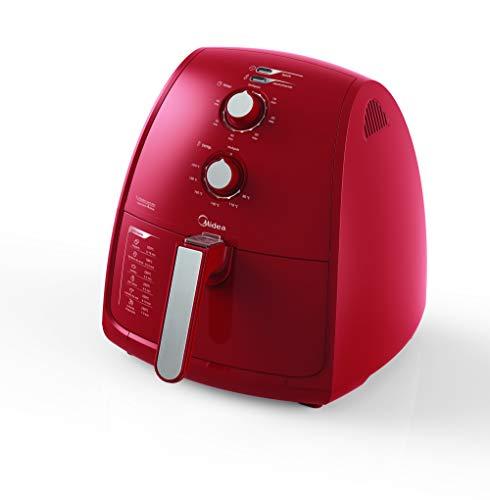 Fritadeira Midea Liva Sem oleo 4L Vermelha 220V, Midea, FRV42, Vermelho