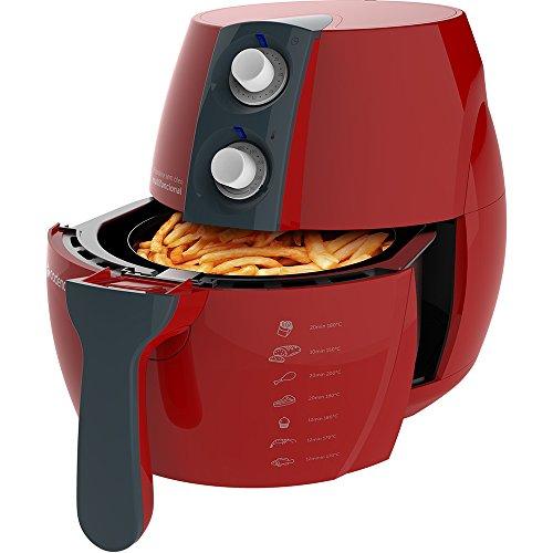 Fritadeira Sem Óleo Perfect Fryer Colors, Cadence Frt541-127, Vermelho, 110v