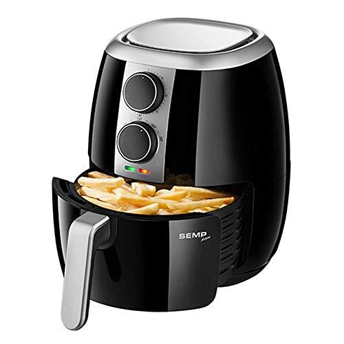 Fritadeira sem oleo Air Fryer Linha Fit 1400 W 127 V, Semp TCL AF3018PR1, Preta