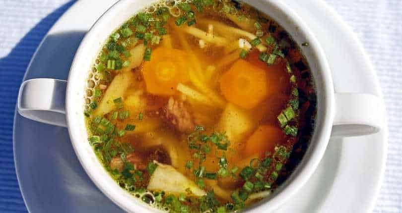 Receita de sopa leve e light na panela de pressão