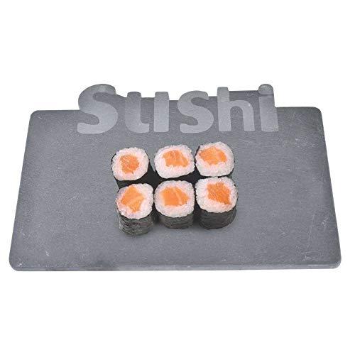 Bandeja Em Ardosia Escrito Sushi 25x17cm