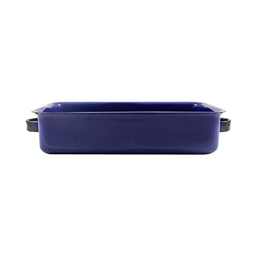 Bandeja Multiuso Esmaltado Azul - 800 ml - Ewel