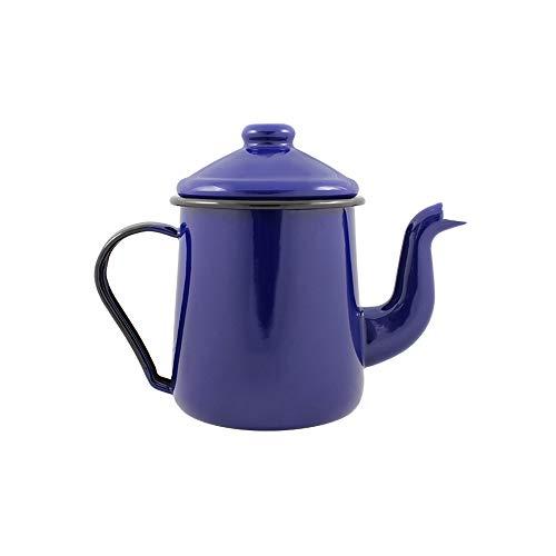 Cafeteira Tradicional 12 Esmaltada Azul - 1100 ml - Ewel