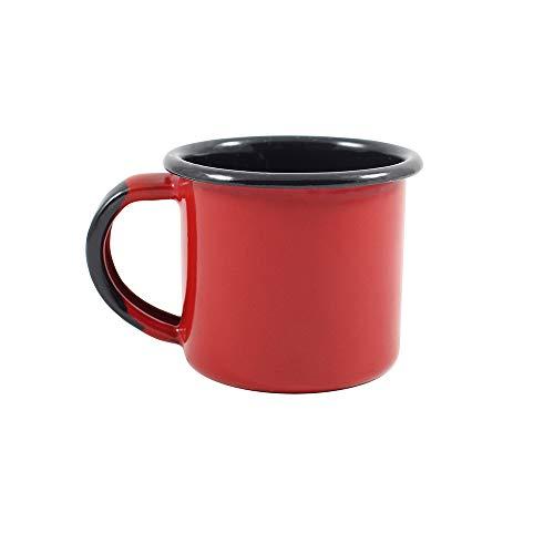 Caneca 4,5 Esmaltado Vermelho 70 ml - Ewel