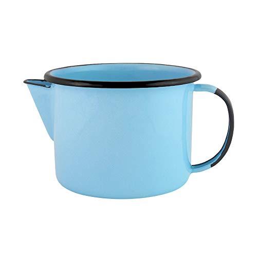 Caneca com bico 12 Esmaltado Azul claro 1000 ml - Ewel
