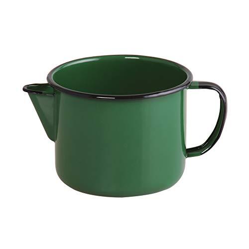 Caneca com bico 12 Esmaltado Verde 1000 ml - Ewel