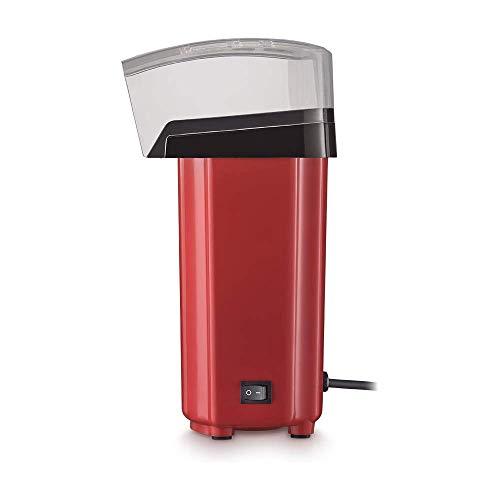 Pipoqueira Elétrica sem Óleo 220V com 900W Capacidade de 60g de Pipoca Vermelha/Preta Multilaser - CE042