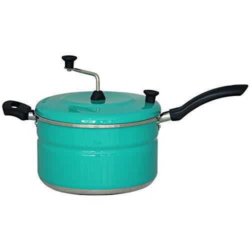 Pipoqueira N.20 Alumínio Colors Gastrobel: Verde Esmeralda