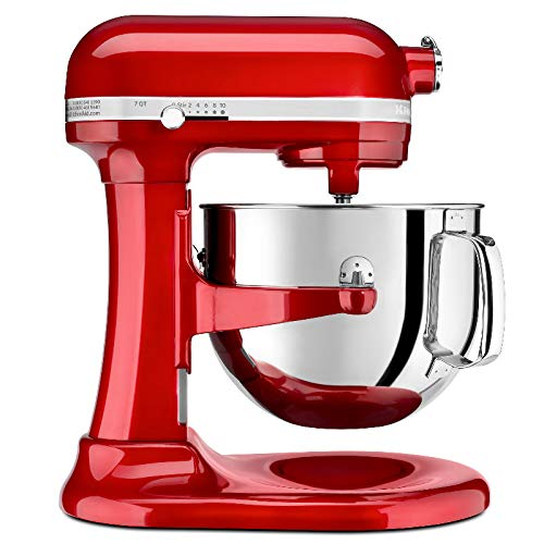 KitchenAid KEC97A3 Batedeira Stand Mixer ProLine, Vermelho (Candy Apple), 6.9L