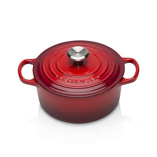 Panela Redonda Signature 18cm, Vermelho, Ferro Fundido, Le Creuset