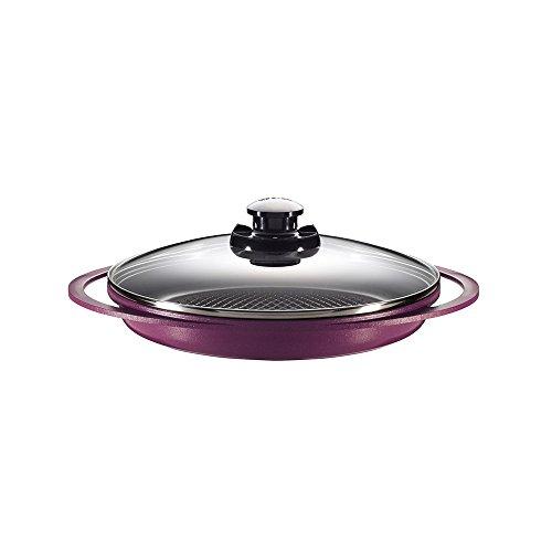 Grill com Revestimento Cerâmico Roichen Violeta 28 cm