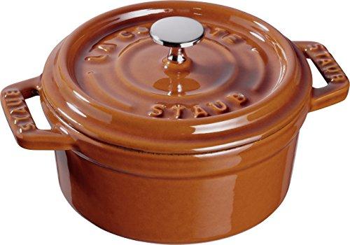 Dustproof 40511 365 – Mini caçarola de ferro fundido – Canela – 10 cm