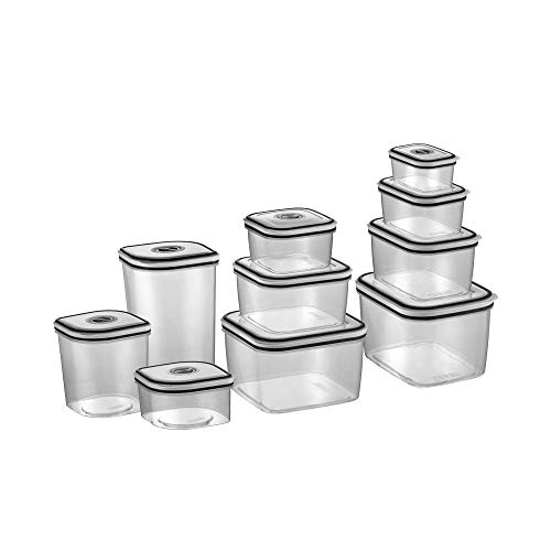 Kit Potes de Plástico Hermético, 10 unidades, Electrolux