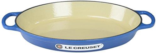 Le Creuset Baker oval de ferro fundido esmaltado, 2,25 L, Marselha