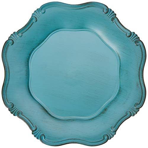 Sousplat Romantique Mimo Style Azul Turquesa