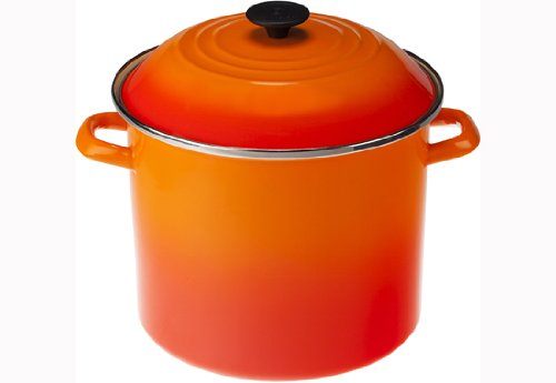 Stock Pot, 26 Cm, Le Creuset, 92100026, Laranja