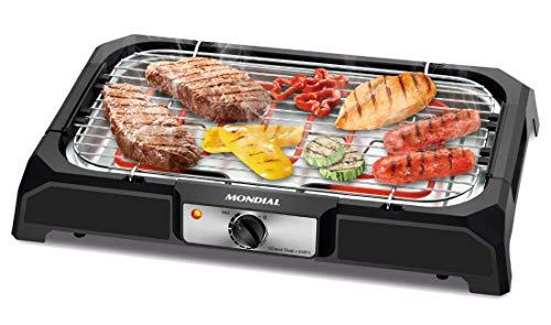 Churrasqueira Elétrica Mondial, Grand Steak & Grill, 220V, Preto, 2000W - CH-05