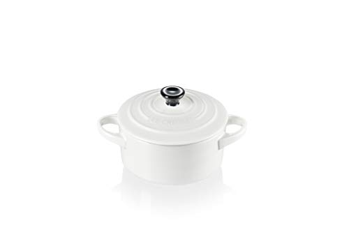 Mini Cocotte 10cm, Branco, Cerâmica, Le Creuset