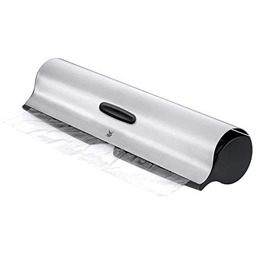 WMF Dispensador de filme Cromargan de aço inoxidável, 5,5 x 6,4 x 32 cm